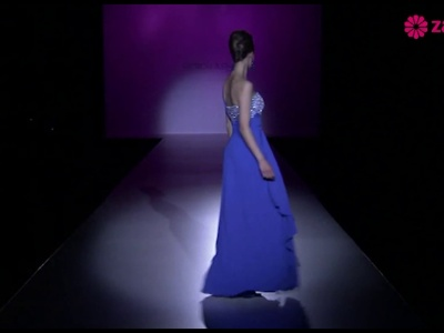 Desfile dos vestidos de noiva e de festa de Patricia Avendaño 2014
