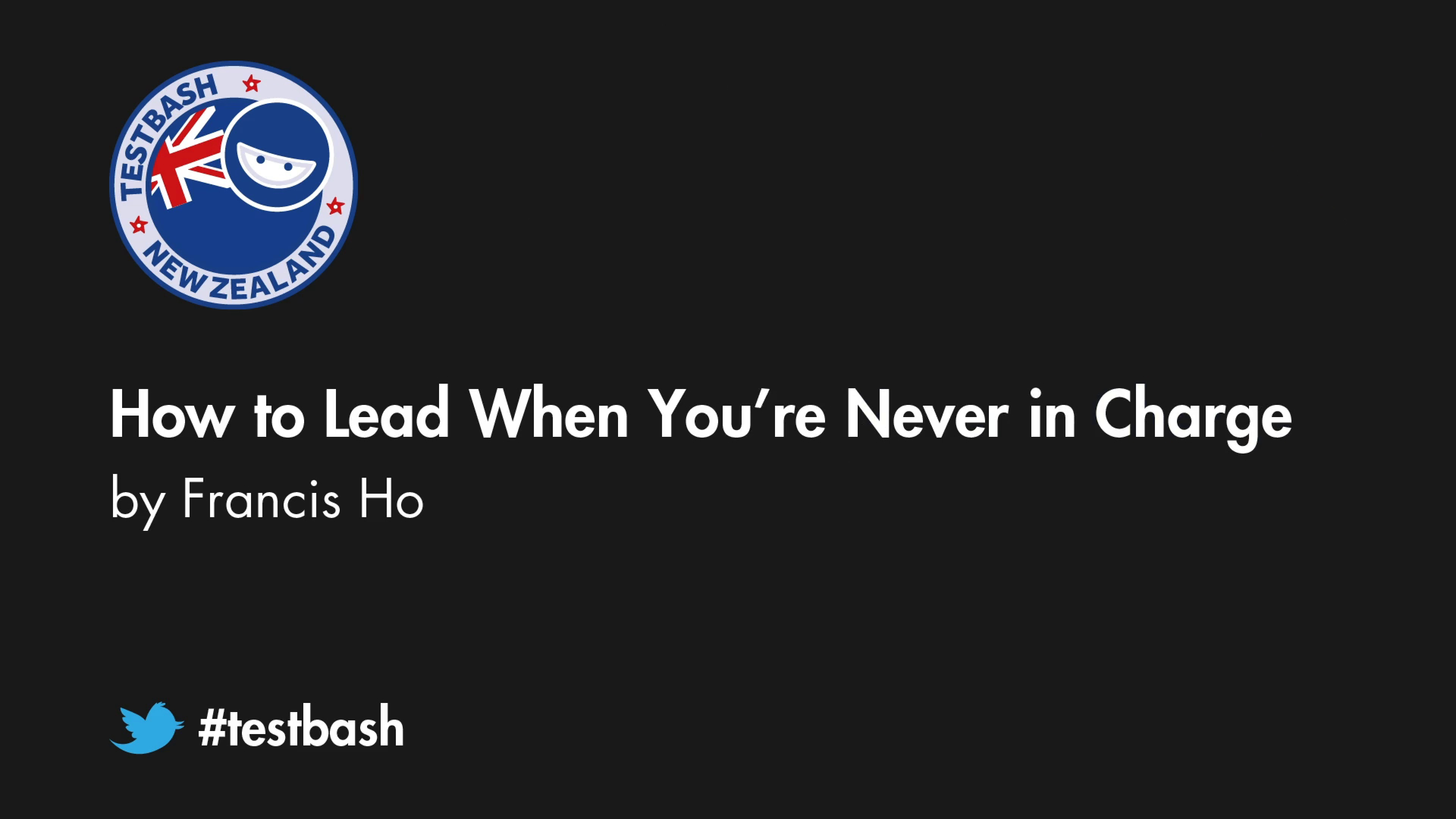 How to Lead When You're Never in Charge - Francis Ho