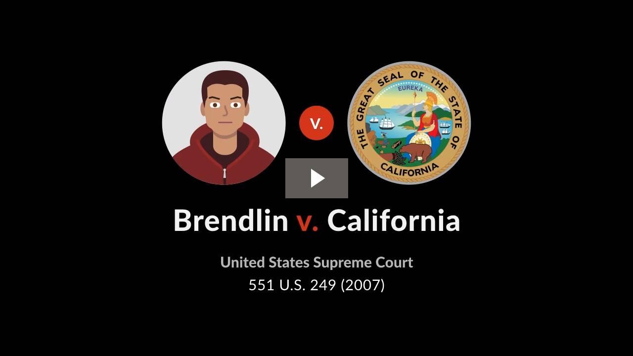 Brendlin v. California