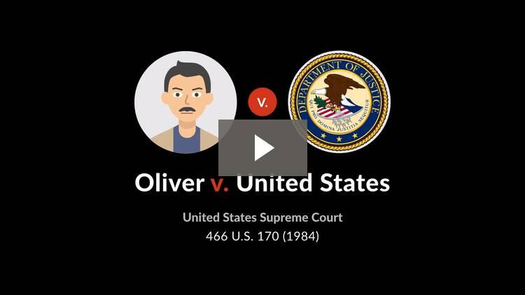 Oliver v. United States