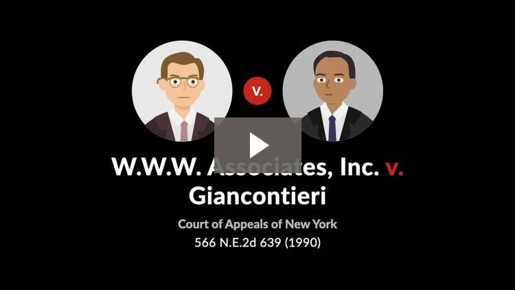 W.W.W. Associates, Inc. v. Giancontieri