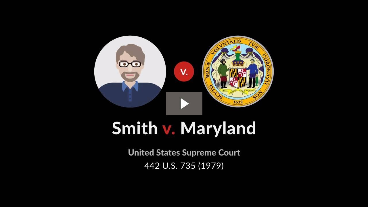 Smith v. Maryland