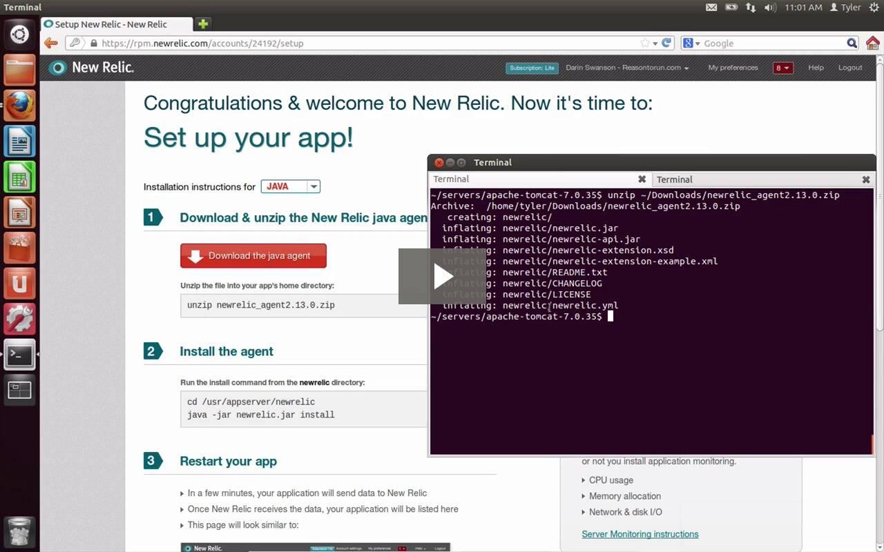 Video zur Einführung von Java-Monitoring