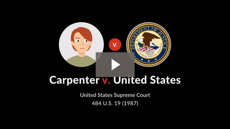 Carpenter v. United States