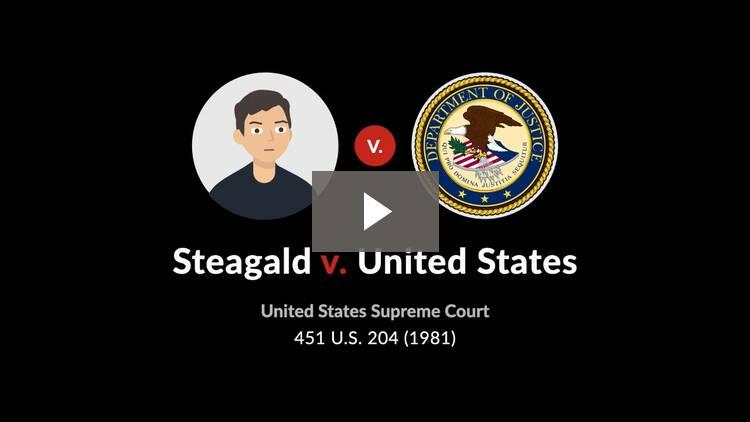 Steagald v. United States