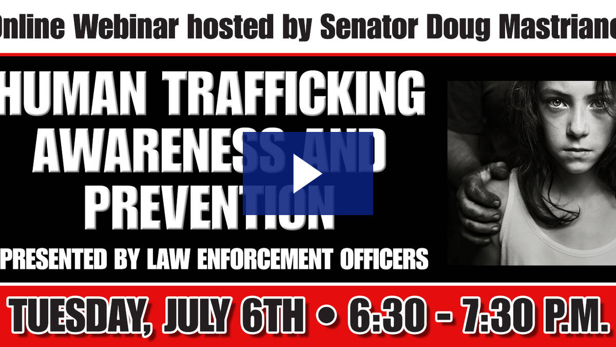 7/6/21 - Human Trafficking Awareness & Prevention Webinar