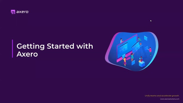 Getting Started with Axero
