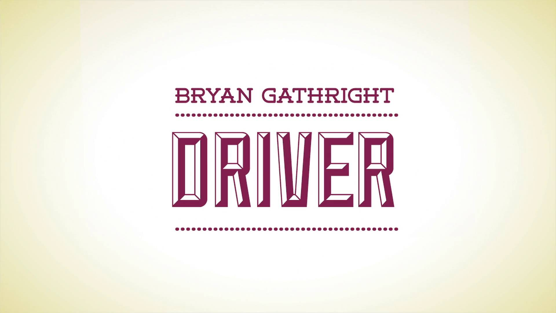 The Ultimate Driver Series by Bryan Gaithright