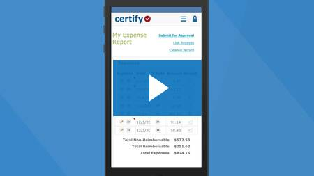 Certify Mobile Overview
