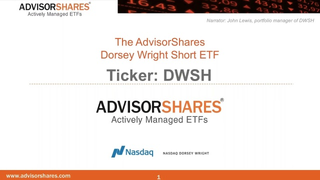 Dwsh Dorsey Wright Short Etf Advisorshares
