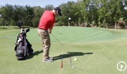 Practice Drills: 2 Club Trough Drill