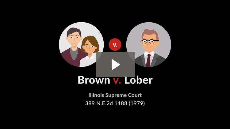 Brown v. Lober