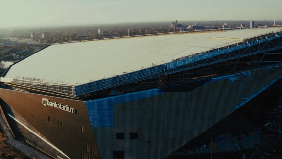 LeJeune Steel Scores Big with the Minnesota Vikings Stadium