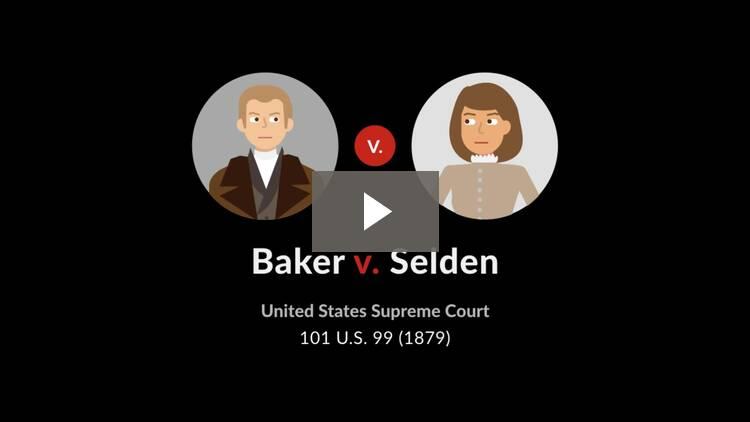 Baker v. Selden