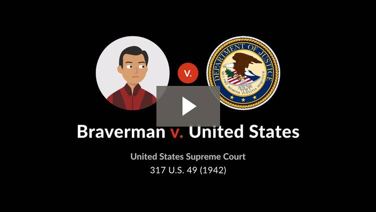 Braverman v. United States