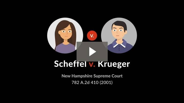 Scheffel v. Krueger