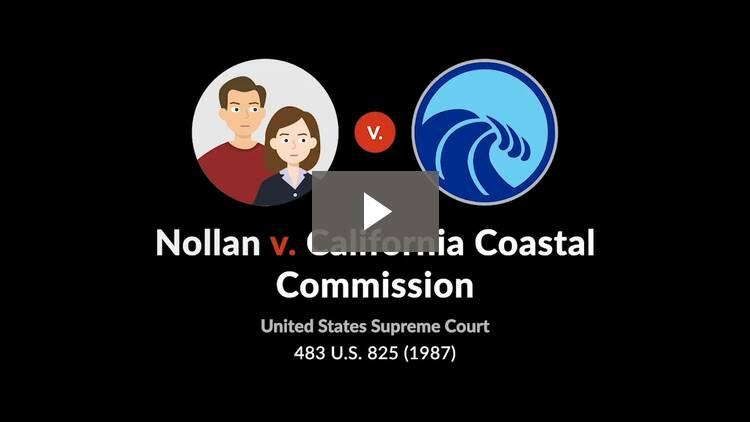 Nollan v. California Coastal Commission