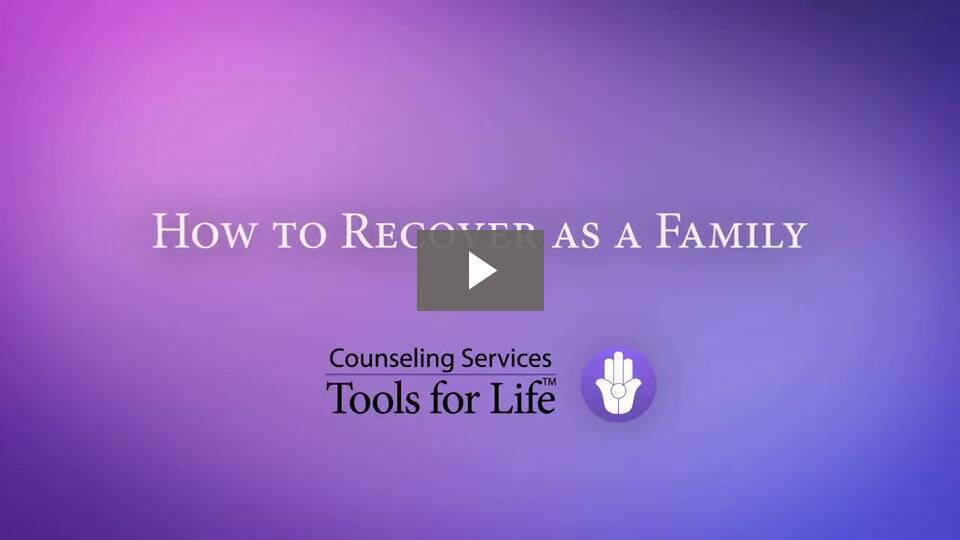 How to Recover as a Family