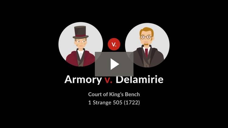 Armory v. Delamirie
