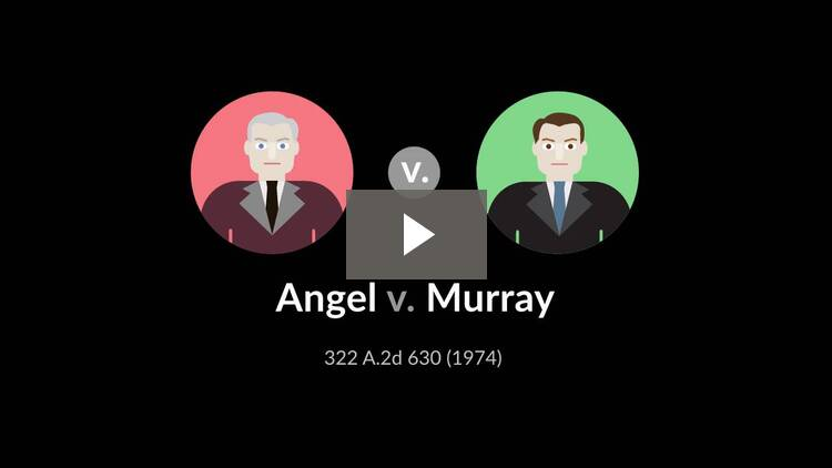 Angel v. Murray