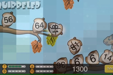 Squirreled - math game combines learning with fun!