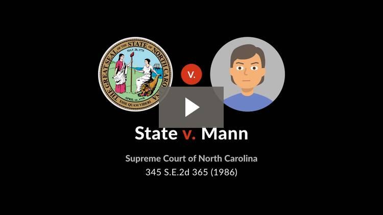 State v. Mann