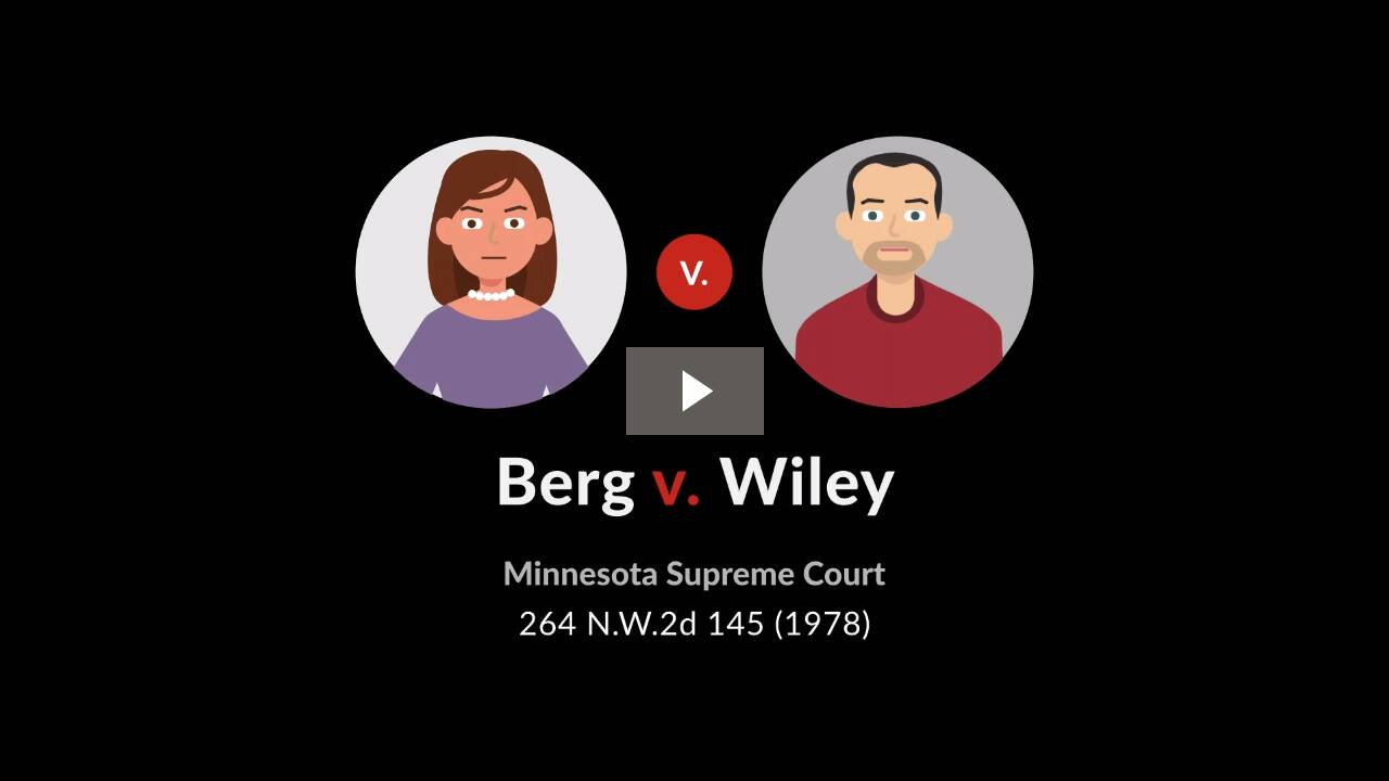 Berg v. Wiley
