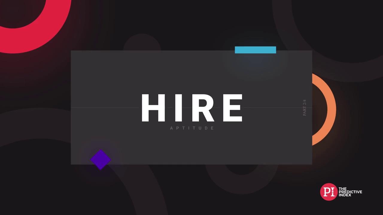 Hire Aptitude - New Version