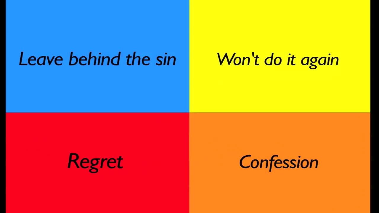 Elements of Repentance
