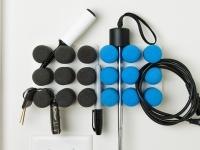 Video: Pinnns | Modular Organization System Colorchoose option