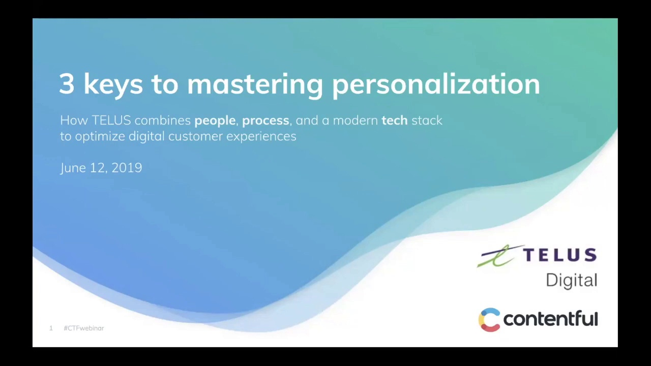 [2019-06-12] 3 keys to mastering personalization