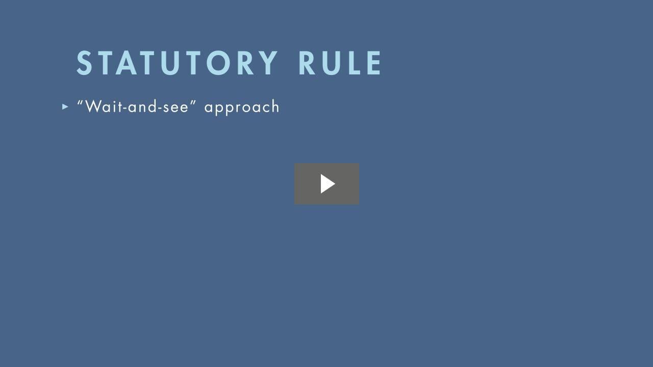 Rule Against Perpetuities as Applied to Trusts