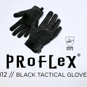 Ergodyne Product Video - ProFlex<sup>®</sup> 812BLK High-Dexterity Black Tactical Gloves