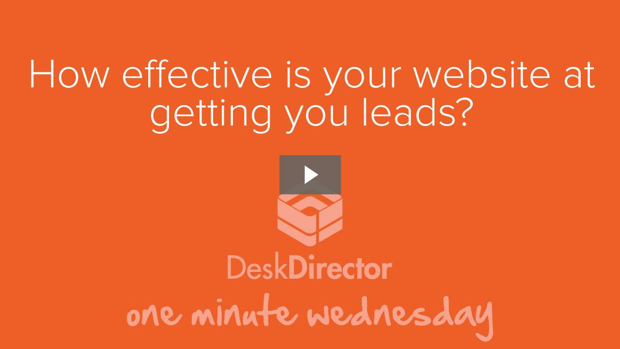 How effective is your website at getting you leads?