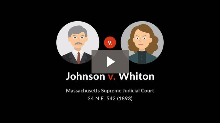 Johnson v. Whiton