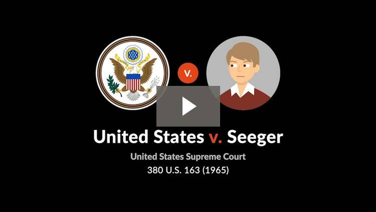 United States v. Seeger