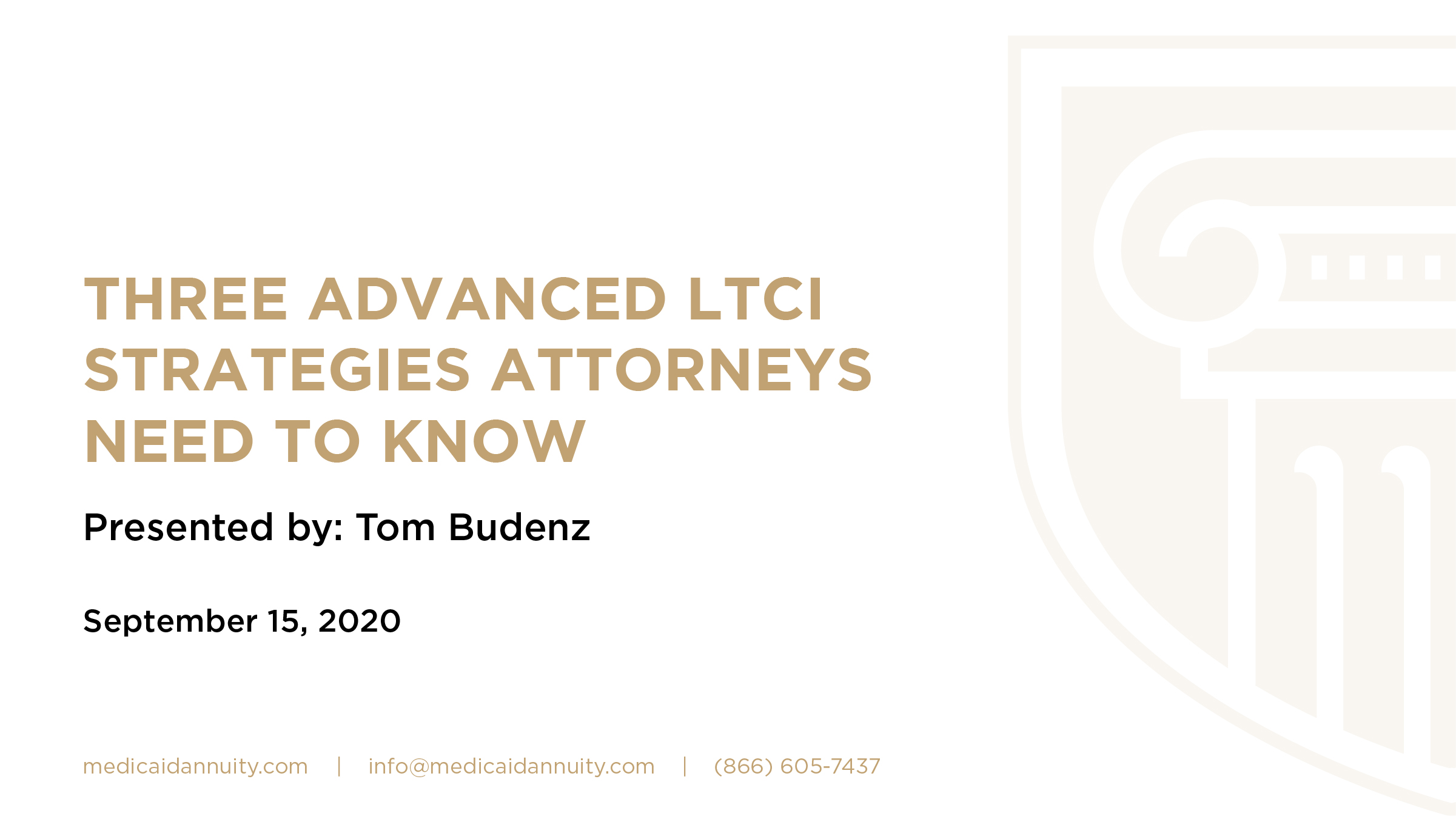 Three Advanced LTCI Strategies Attorneys Need to Know