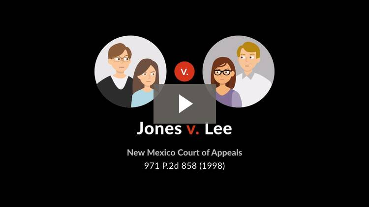 Jones v. Lee