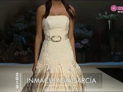 Vestidos de novia bordados en pasarelas 2013