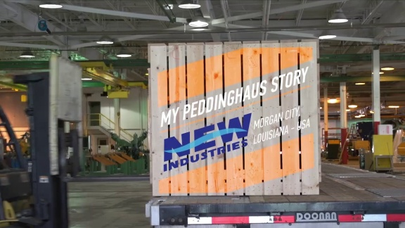 My Peddinghaus Story - New Industries - Morgan City, Louisiana - USA