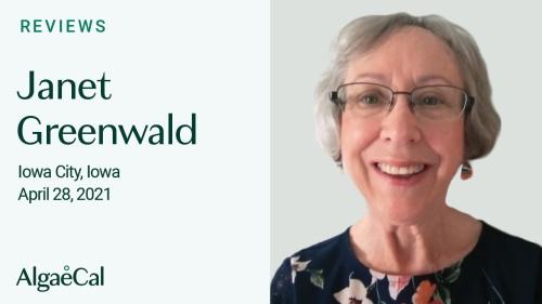 Testimonial thumbnail portrait of Janet Greenwald