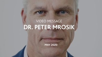 Video message from Dr. Mrosik, May 2020