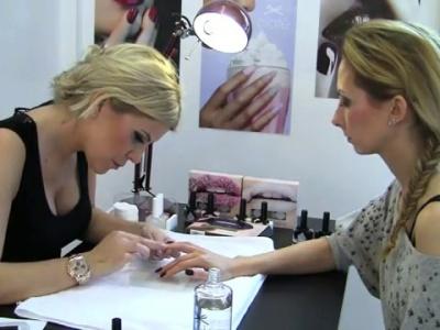 Cómo hacer una manicura de caviar: tutorial