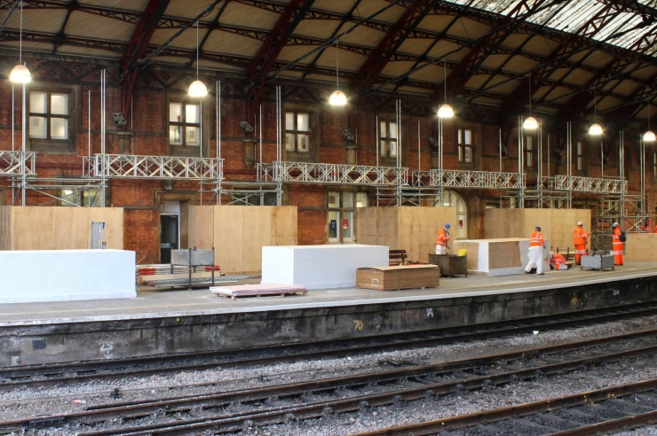 Bristol Temple Meads Station Refurbishment - Christmas Blockade and Scaffolding Works