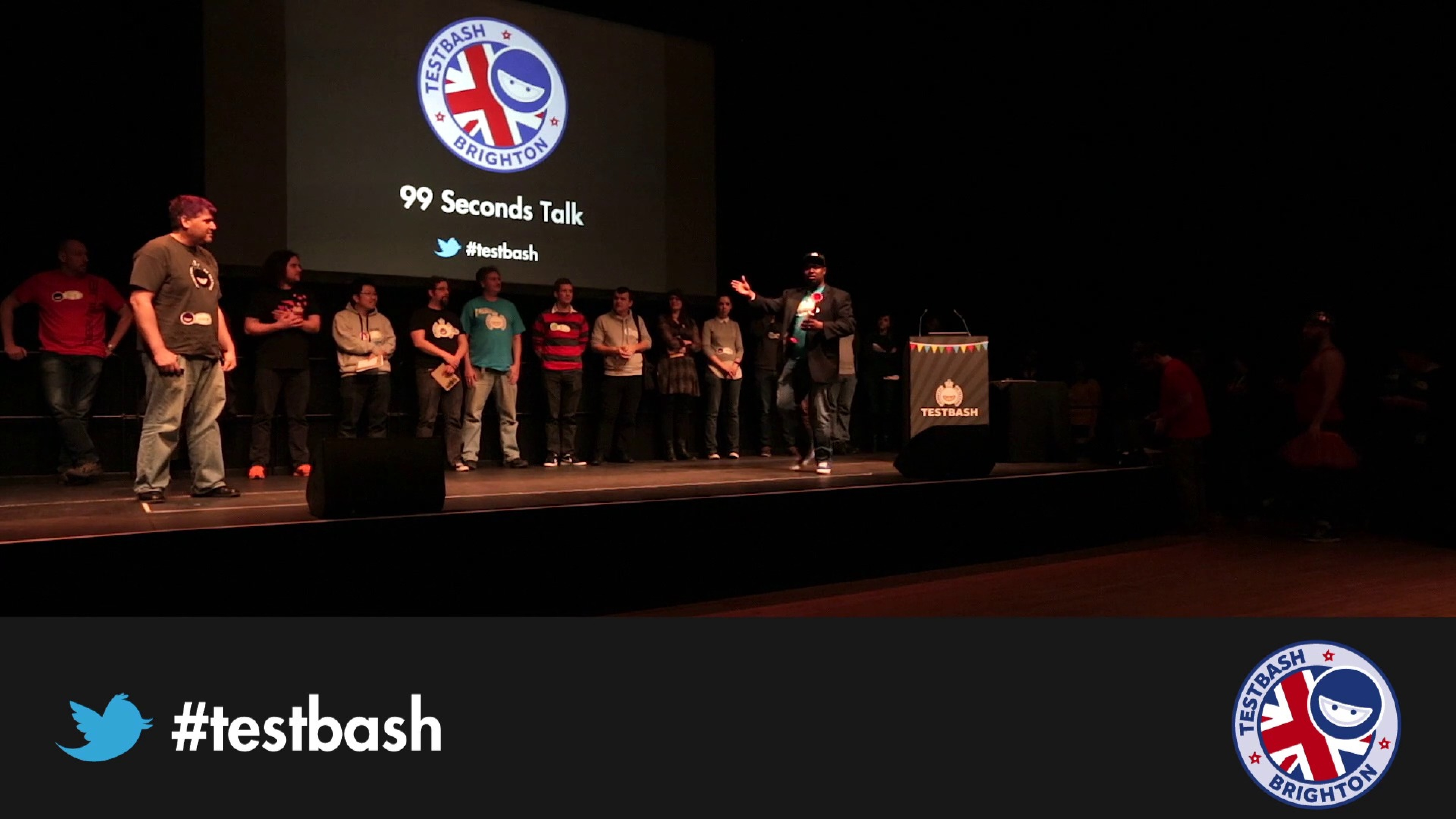 99 Second Talks - TestBash Brighton 2016