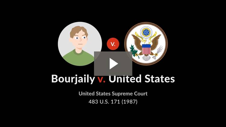 Bourjaily v. United States