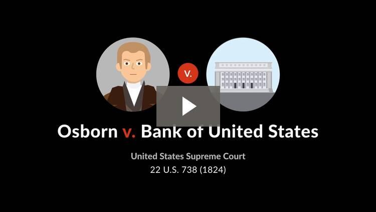 Osborn v. Bank of the United States