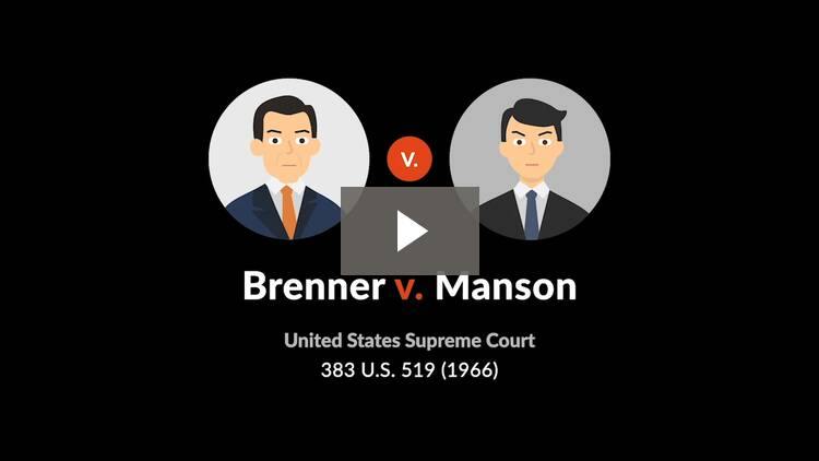 Brenner v. Manson