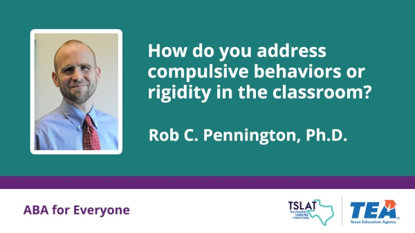 How do you address compulsive behaviors in the classroom?