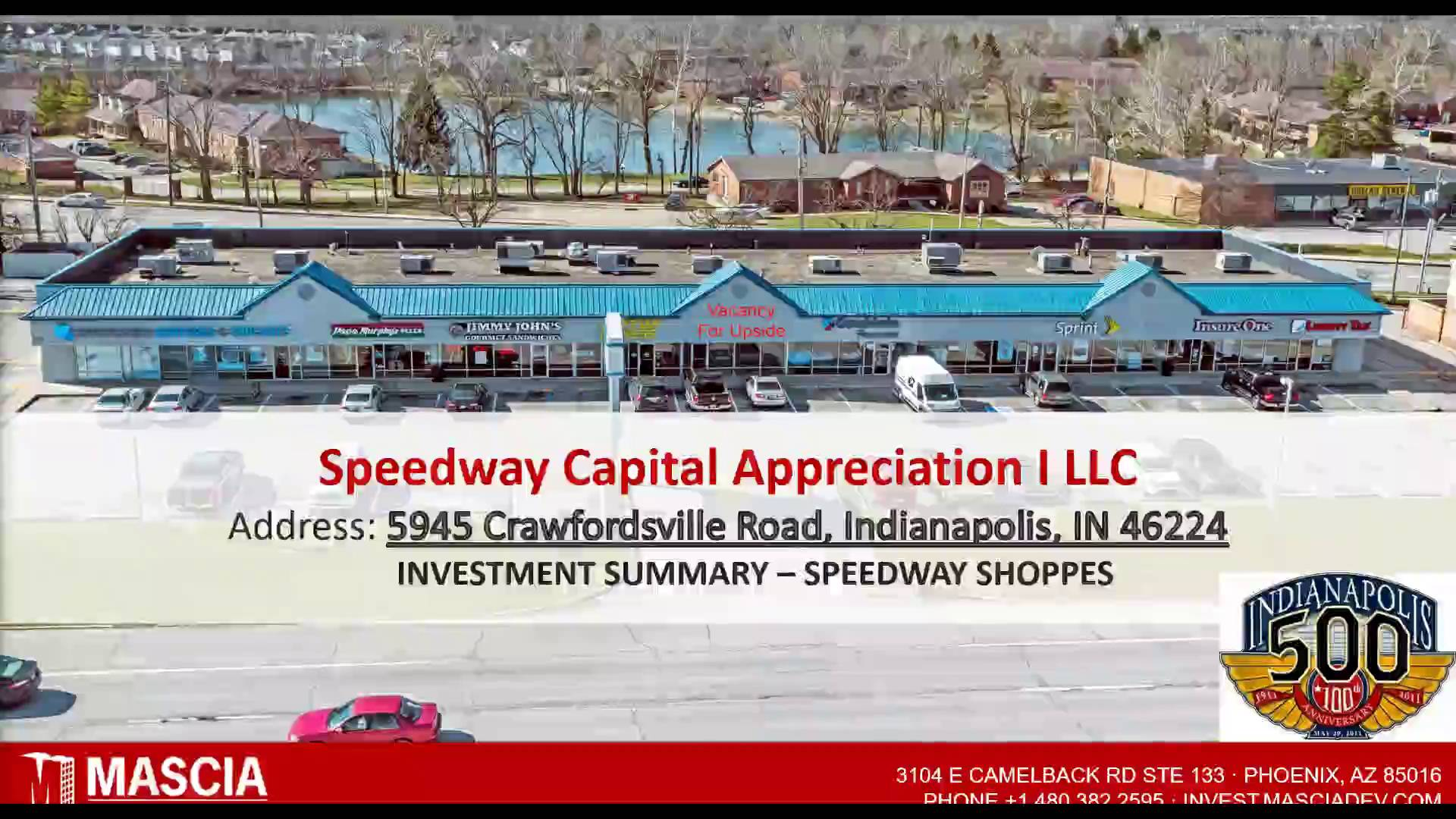 Investment Video - Speedway Shoppes